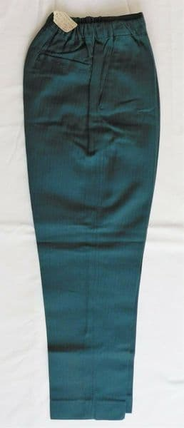 Vintage 1960s boys green trousers Age 8 UNUSED Ladybird 31